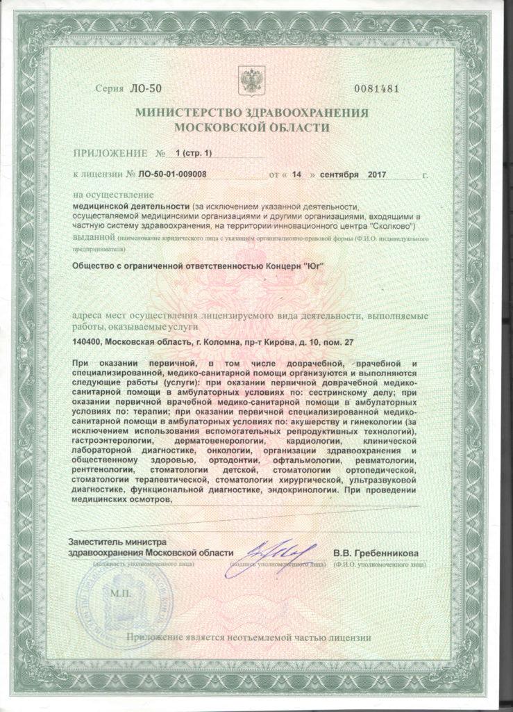 Лицензия19